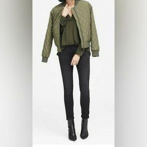 banana republic long sleeve blv neck blouse